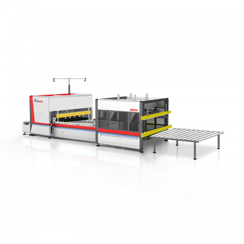 NG-19RS Automatic mattress compress fold roll wrapping machine