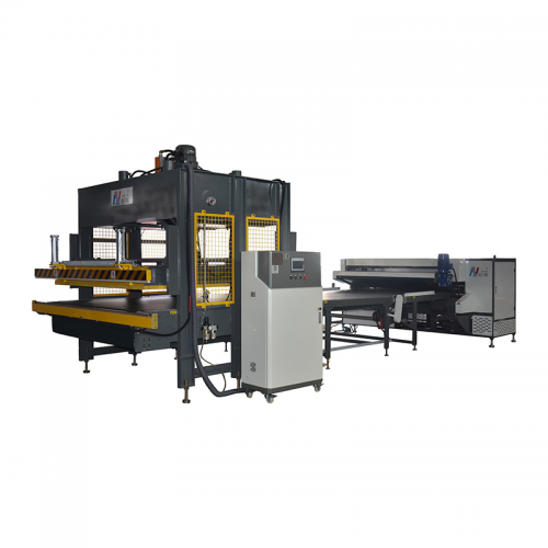 Automatic NG-17RS Mattress compress and roll wrapping machine